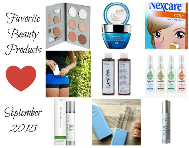 Favorite Beauty Products September 2015